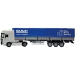DAF XF High Cab with Covered Trailer - Joal die cast - 1:50 scale  (Joal 345)