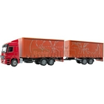 Mercedes Benz Actros Double Tautliner - Joal die cast - 1:50 scale  (Joal 355)