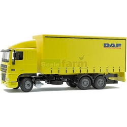 DAF XF Low Cab with Short Tautliner - Joal die cast - 1:50 scale (Joal 357)
