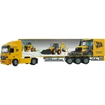 Mercedes Benz Actros JCB Exhibition Truck - Joal die cast - 1:50 scale  (Joal 359)