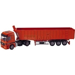 Mercedes Benz Actros Truck with Dumper Trailer - Joal die cast - 1:50 scale  (Joal 363)