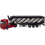 Mercedes Benz Actros Articulated Bulk Powder Transporter - Joal die cast - 1:50 scale  (Joal 364)