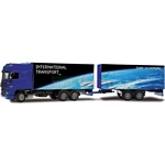DAF XF with Double Trailer - Joal die cast - 1:50 scale  (Joal 369)