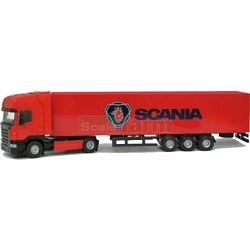 Scania R Topline with Container Trailer - Joal die cast - 1:50 scale (Joal 385)