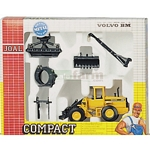 Volvo BM L70C Wheel Loader with Accessory Set - Joal die cast - 1:50 scale  (Joal 400)
