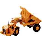CAT 631 Tilt Tractor with Dumper - Joal die cast - 1:70 scale  (Joal CAT 222)