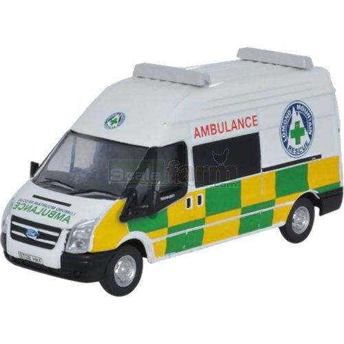 Ford Transit LWB HiTop - Lomond Mountain Rescue (Oxford 76FT011)