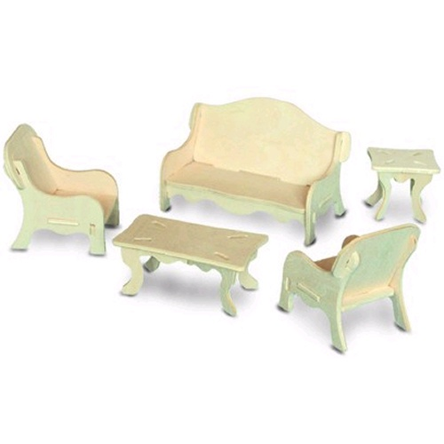 Quay p008 living room furniture woodcraft construction kit for Furniture quay