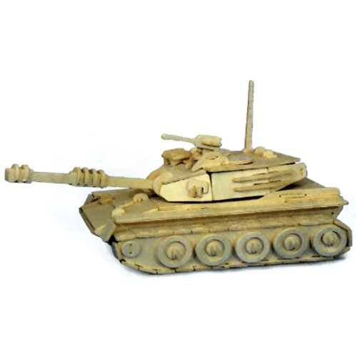 Tank Woodcraft Construction Kit (Quay P050)