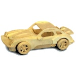 Porsche Woodcraft Construction Kit
