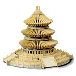Temple of Heaven Woodcraft Construction Kit