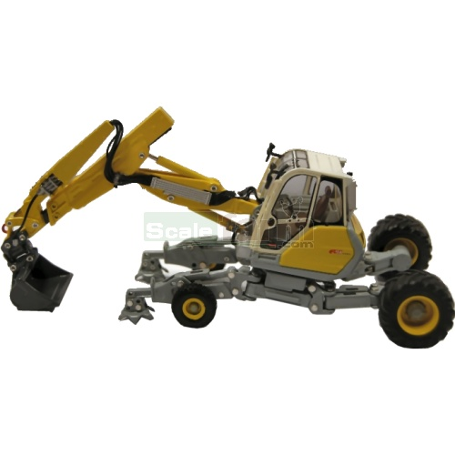 Menzi Muck A91 Wheeled Excavator - Limited Edition (Ros 00181)
