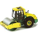 Ammann ASC110 Single Drum Roller - ROS die cast - 1:50 scale  (ROS 00198)