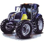 New Holland Hydrogen Tractor - ROS die cast - 1:32 scale  (ROS 30125)