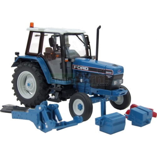 6640 Ford Tractor : Imber ford powerstar sle wd tractor