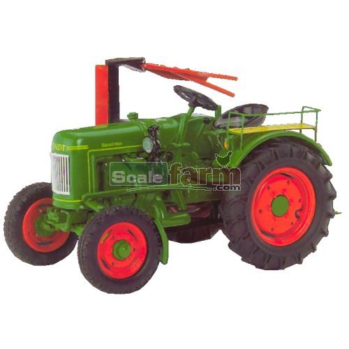 schuco 02622 fendt dieselross vintage tractor with side. Black Bedroom Furniture Sets. Home Design Ideas