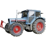 Eicher 314S Turbo Vintage Tractor - Schuco Miniature Collectable Models - 1:32 scale  (Schuco 07665)