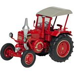 Lanz Ackerluft Bulldog Vintage Tractor (Wine Red) - Schuco Miniature Collectable Models - 1:32 scale  (Schuco 07696)
