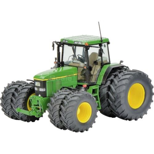 John Deere Dual Wheels : Schuco john deere tractor with dual wheels