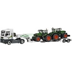 MAN TGA with Low Loader and 2 Fendt 936 Vario Tractors - Schuco Miniature Collectable Models - 1:87 scale  (Schuco 22709)