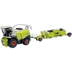 CLAAS Jaguar 980 Forage Harvester with Header Trailer - Schuco Miniature Collectable Models - 1:87 scale  (Schuco 25683)
