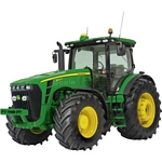 John Deere 8345R Tractor - Schuco Miniature Collectable Models - 1:87 scale  (Schuco 25684)