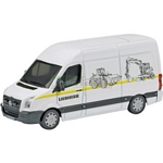 VW Crafter Liebherr Van - Schuco Miniature Collectable Models - 1:87 scale  (Schuco 25799)