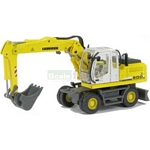 Liebherr A900C Wheeled Excavator - Schuco Miniature Collectable Models - 1:87 scale  (Schuco 25800)