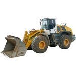 Liebherr 550 Wheel Loader - Schuco Miniature Collectable Models - 1:87 scale  (Schuco 25801)