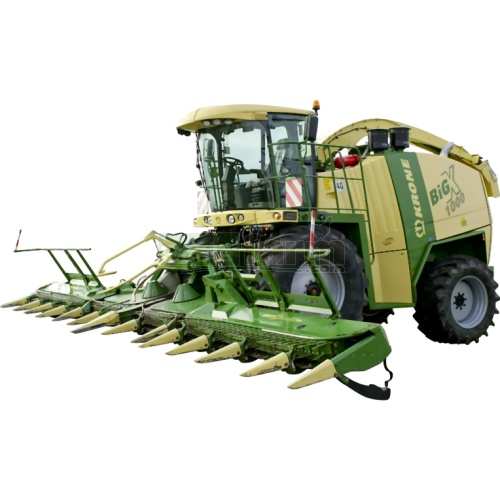 Krone Big X 1100 Forage Harvester (Schuco 25887)