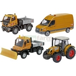Mixed Vehicle Set - Schuco Miniature Collectable Models - 1:87 scale  (Schuco 25893)
