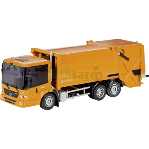 Schuco 25978 mercedes benz econic refuse truck for Mercedes benz truck toys