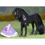 Single Horse Set - Black Diamond - Julip Horse of the Year  (Julip 1006)