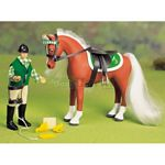Horse and Rider Set - David & Dandelion - Julip Horse of the Year  (Julip 1402)
