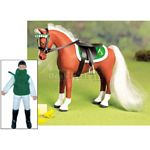 Horse and Rider Set - Darcie & Dandelion - Julip Horse of the Year  (Julip 1402D)