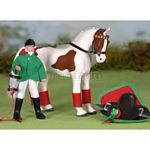 Horse and Rider Set - Polly & Pandora - Julip Horse of the Year  (Julip 1404)
