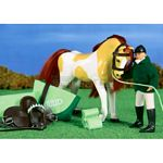 Horse and Rider Set - Rosie & Rocket - Julip Horse of the Year  (Julip 1421)
