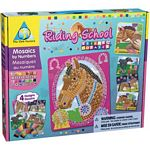Sticky Mosaics Riding School - Mosaics by Numbers - The Orb Factory Sticky Mosaics  (Orb Factory 62538)