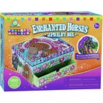 Sticky Mosaics Enchanted Horses Jewellry Box - Mosaics by Numbers - The Orb Factory Sticky Mosaics  (Orb Factory 64877)