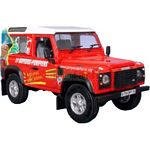 Land Rover Defender 90 French Fire 'Sapeurs Pompier' SWB   - Universal Hobbies Die Cast - 1:43 scale  (Universal Hobbies 1244)