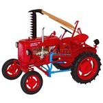 Valmet 20 Vintage Tractor with Side Cutter