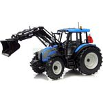 Valtra Series C with Front Loader - Matt Blue - Universal Hobbies Country Collection - 1:32 scale  (Universal Hobbies 2793)