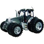 McCormick MTX145 Tractor with 8 Wheels  (Brushed Metal Finish)