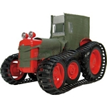 Ferguson TEA-20 'Sue' Polar Tractor - Red & Canvas