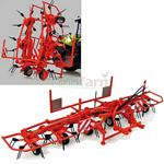 Kuhn GF 6502 Wheeled Tedder - Universal Hobbies Country Collection - 1:32 scale  (Universal Hobbies 2922)