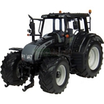 Valtra N142 Metallic Black Tractor - Universal Hobbies Country Collection - 1:32 scale  (Universal Hobbies 2931)