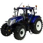 New Holland T7.210 Tractor 'Blue Power' - Universal Hobbies Country Collection - 1:32 scale  (Universal Hobbies 4046)