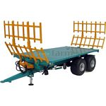 Rolland BH100 Flat Trailer with Hay Lades - Universal Hobbies Country Collection - 1:32 scale  (Universal Hobbies 4124)