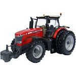 Massey Ferguson 8737 Tractor with 6 Wheels