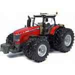 Massey Ferguson 8737 Tractor with Dual Wheels